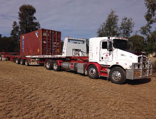 Roma Transport Services specialises in Container Movements