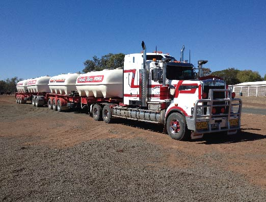 Roma Transport Services offers Potable Water Services